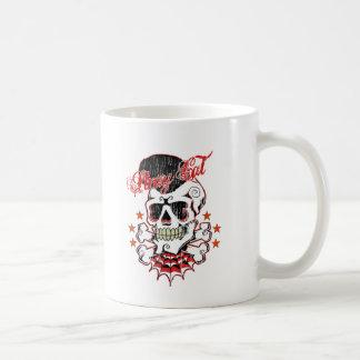 Rockabilly Skull Coffee Mug