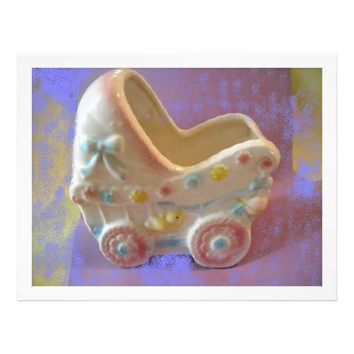 Rockabye Baby Buggy/shower gifts Flyers
