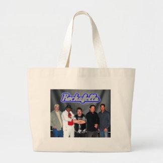 Rockafella,Band pic 1, Jumbo Tote Bags