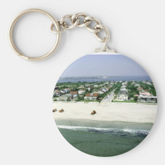 Rockaway Beach Key Chain