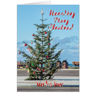 Rockaway Beach, OR - Have A Very Merry Christmas Greeting Card