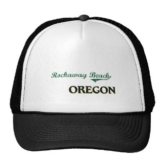 Rockaway Beach Oregon Classic Design Mesh Hats