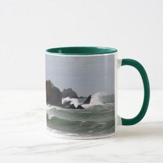 Rockaway Beach Surf Mug