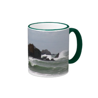 Rockaway Beach Surf Coffee Mug