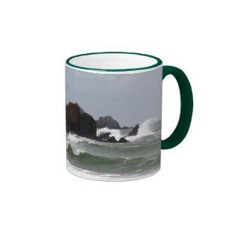 Rockaway Beach Surf Ringer Mug