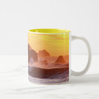 Rockaway Beach Two-Tone Coffee Mug