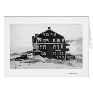 Rockaway, Oregon Lake Lytle Hotel Photograph Greeting Card