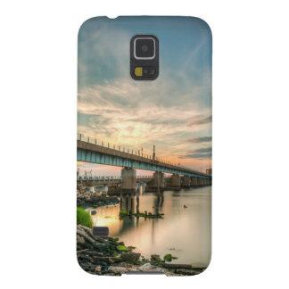 Rockaway Train Bridge Cases For Galaxy S5