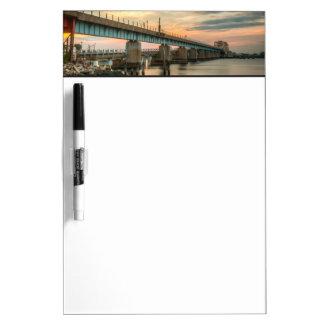 Rockaway Train Bridge Dry Erase Board