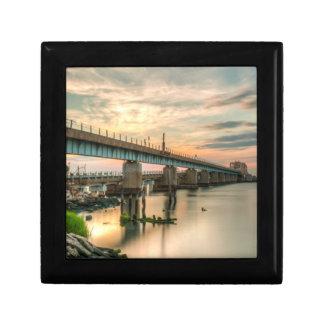 Rockaway Train Bridge Gift Box