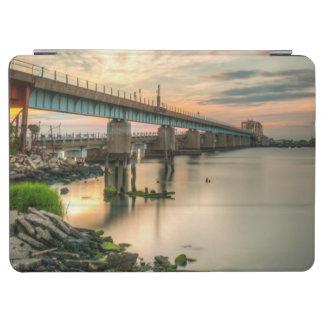 Rockaway Train Bridge iPad Air Cover