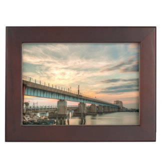 Rockaway Train Bridge Keepsake Box
