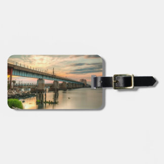 Rockaway Train Bridge Luggage Tag