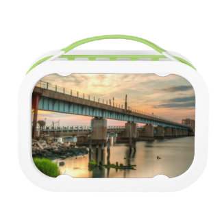 Rockaway Train Bridge Lunchboxes