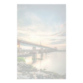 Rockaway Train Bridge Personalised Stationery