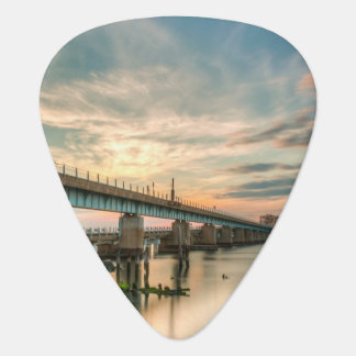 Rockaway Train Bridge Plectrum