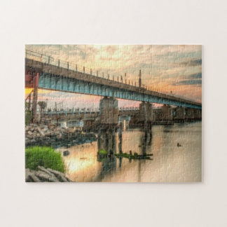 Rockaway Train Bridge Puzzle