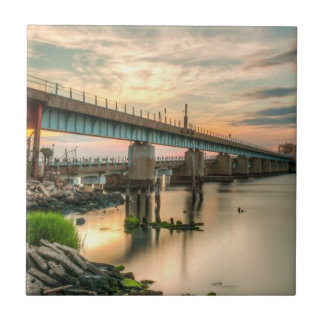 Rockaway Train Bridge Tile