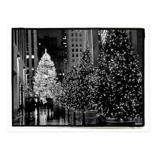 Rockefeller Center Christmas Tree Postcard Post Cards