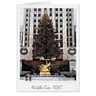 Rockefeller Center - New York City Card
