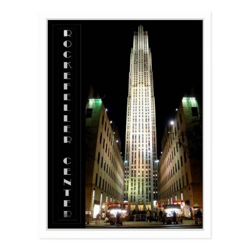 Rockefeller Center Postcard