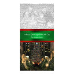 Rockefeller Centre Christmas Tree, Your Photo Photo Greeting Card