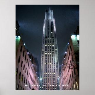 Rockefeller Centre Poster