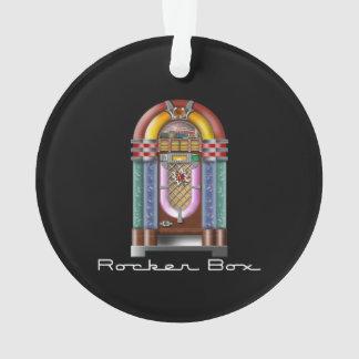 Rocker Box JukeBox Retro Rock Ornament