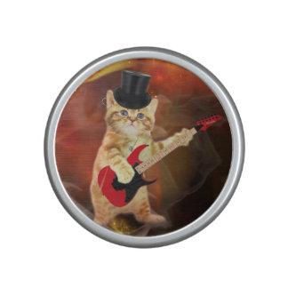 rocker cat in flames speaker