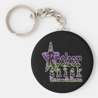 Rocker Chick - Keychain