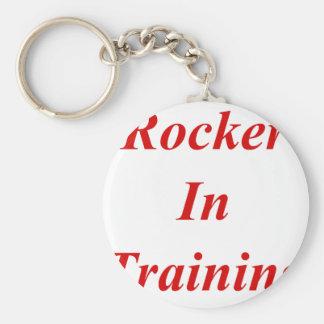 Rocker In Training Keychains