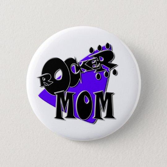 Rocker Mum! 6 Cm Round Badge