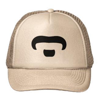 Rocker Mustache Mesh Hats