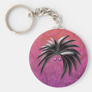 Rocker Pink Key Chain