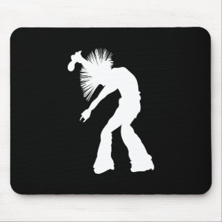 Rocker Silhouette Mouse Pads