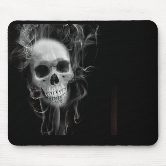 Rocker Skull Mousepad