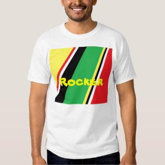 Rockerl print on t-shirts