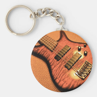 Rockers at Heart! Basic Round Button Key Ring