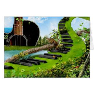 Rockers Stairway To Heaven! - Friendship Card Greeting Card