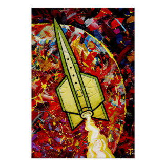 Rocket #13 Poster