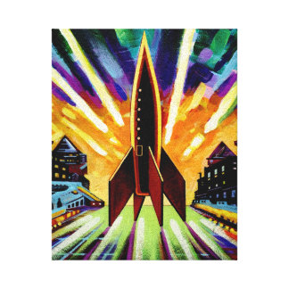 Rocket #25 canvas print