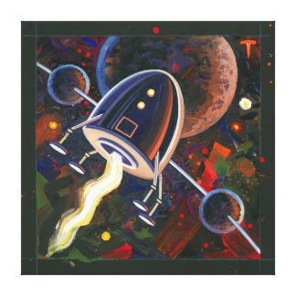 Rocket #76 canvas print