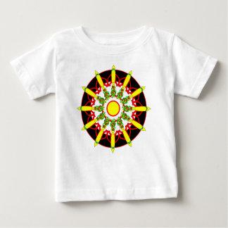 Rocket Blast Off Circle Baby T-Shirt