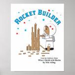 Rocket Builder Poster