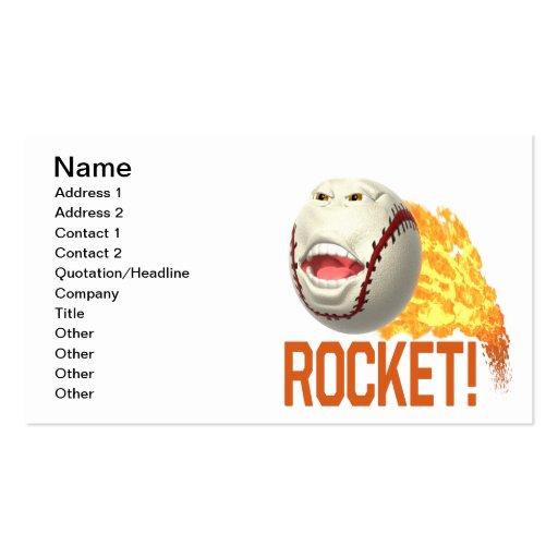 Rocket Business Card Templates