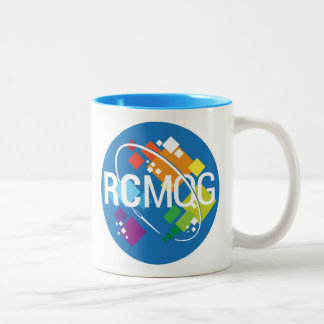Rocket City Modern Quilt Guild Logo Mug