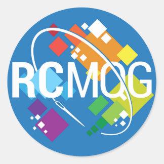 Rocket City Modern Quilt Guild Logo Stickers
