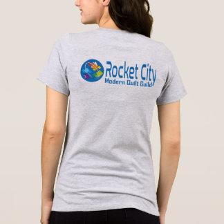 Rocket City Modern Quilt Guild Logo Women's Tee