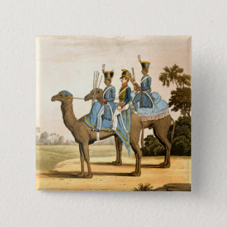 Rocket Corps and Dromedary Corps, Bengal Army 1817 15 Cm Square Badge