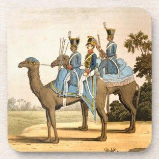 Rocket Corps and Dromedary Corps, Bengal Army 1817 Coaster